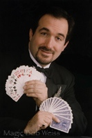 professional magician, Magic Bob Weiss
